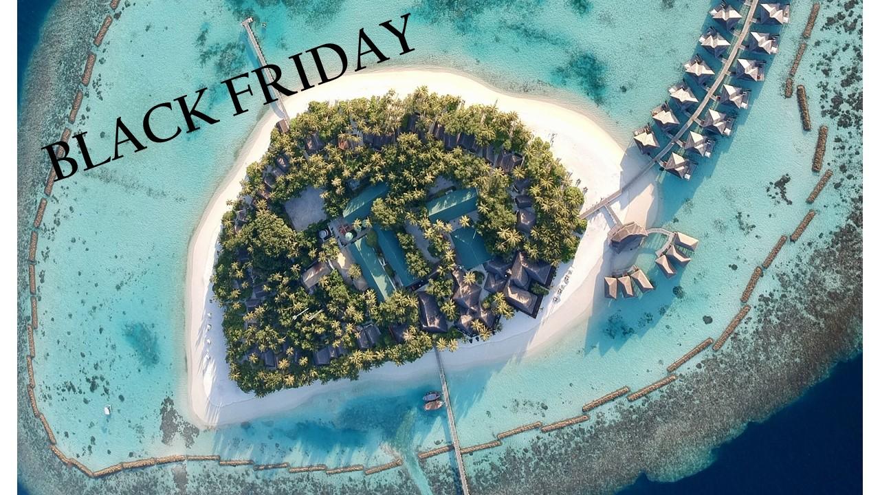 IL BLACK FRIDAY CHE PORTA ALLE MALDIVE
